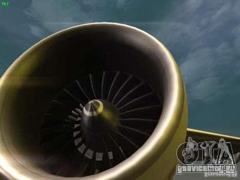 Boeing 777-200 KLM Royal Dutch Airlines для GTA San Andreas вид сверху