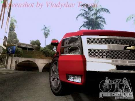 Chevrolet Cheyenne Single Cab для GTA San Andreas вид сзади