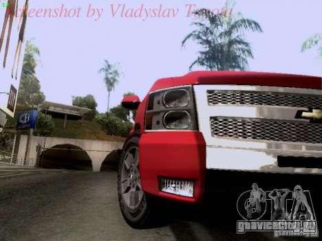 Chevrolet Cheyenne Single Cab для GTA San Andreas вид сзади