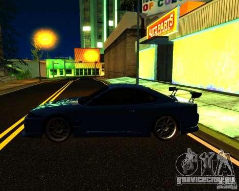 Nissan Silvia C-West для GTA San Andreas вид сверху