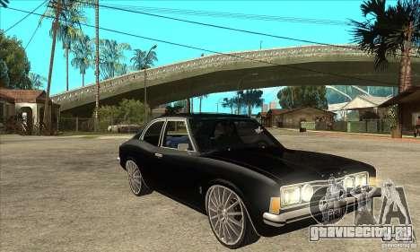 Ford Taunus Coupe для GTA San Andreas вид сзади
