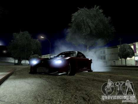 LibertySun Graphics For LowPC для GTA San Andreas третий скриншот