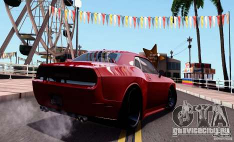 Dodge Challenger Rampage Customs для GTA San Andreas вид слева
