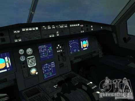 Airbus A330-300 Аeroflot для GTA San Andreas вид изнутри