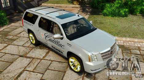 Cadillac Escalade ESV 2012 для GTA 4 двигатель
