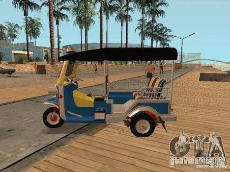 Tuk Tuk Thailand для GTA San Andreas вид справа