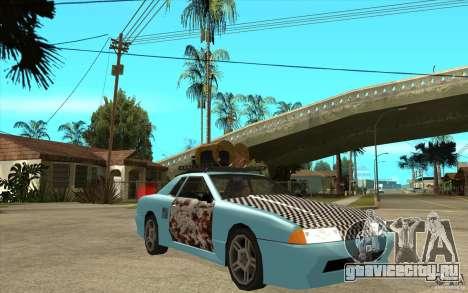 Elegy Rost Style для GTA San Andreas вид сзади