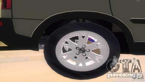 Volvo XC90 для GTA Vice City вид справа