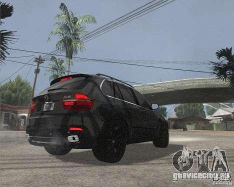BMW X5 2009 Tune для GTA San Andreas вид справа