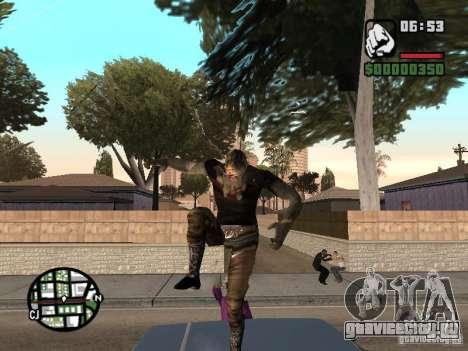 Zombe from Gothic для GTA San Andreas четвёртый скриншот