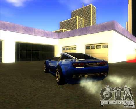 Exage для GTA San Andreas вид слева