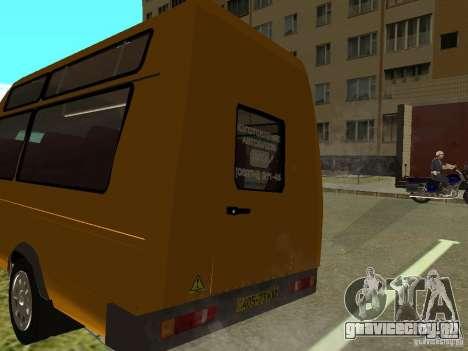 ГАЗ СПВ Рута-16 для GTA San Andreas вид слева