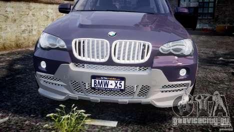 BMW X5 xDrive 4.8i 2009 v1.1 для GTA 4 вид сбоку