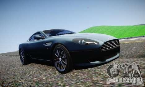 Aston Martin DB9 2005 V 1.5 для GTA 4 вид сверху