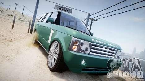 Range Rover Vogue для GTA 4 вид сбоку