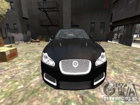 Jaguar XFR для GTA 4 вид сверху