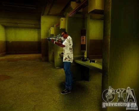 Tavor Tar-21 Digital для GTA San Andreas пятый скриншот