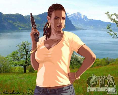 Загрузочный экран Россия в Америке для GTA 4 шестой скриншот