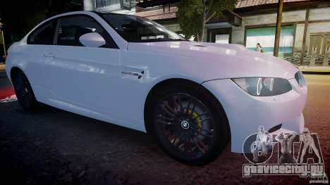 BMW M3 E92 2008 v.2.0 для GTA 4 вид сбоку