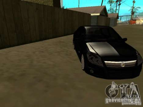 Chevrolet Vectra Elite 2.0 для GTA San Andreas вид сзади