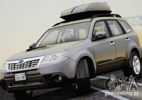 Subaru Forester XT 2008 для GTA San Andreas вид справа