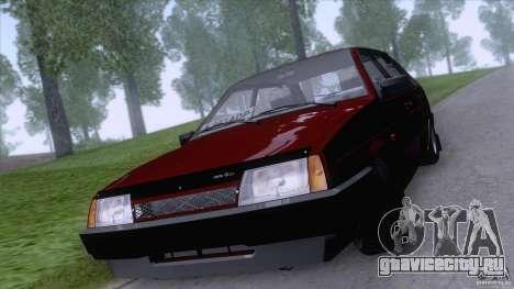 ВАЗ 2109 Сток Final для GTA San Andreas вид слева