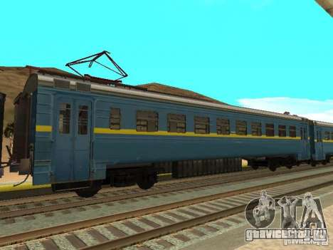 ЭР2 8011 для GTA San Andreas вид сзади слева
