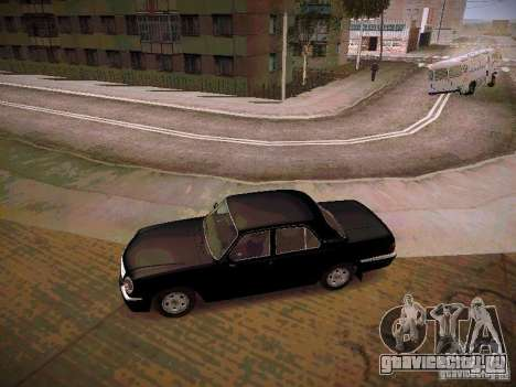 ГАЗ 31105 Волга Рейстайлинг для GTA San Andreas вид слева