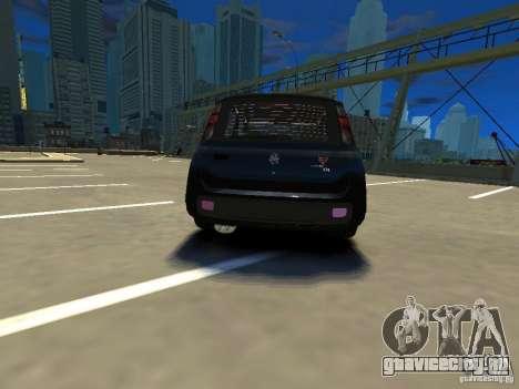 Fiat Novo Uno Sporting для GTA 4 вид сзади слева