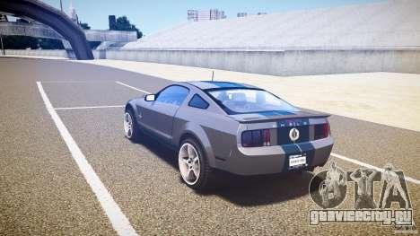 Shelby GT500kr для GTA 4 вид справа