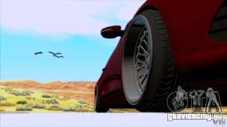Volkswagen Sirocco для GTA San Andreas вид сзади слева
