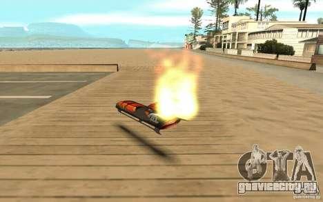 Hoverboard для GTA San Andreas вид сзади слева