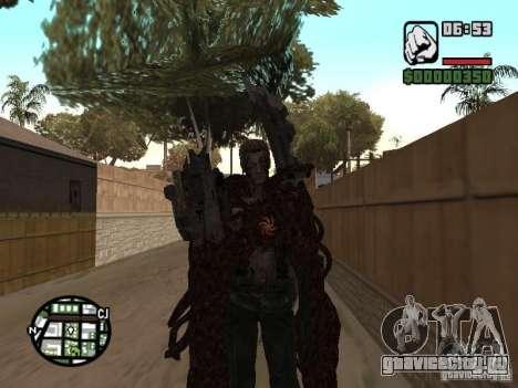 Вескер Уроборос для GTA San Andreas