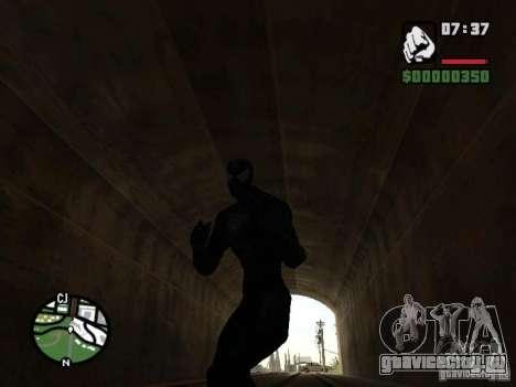 Человек паук враг в отражении для GTA San Andreas седьмой скриншот