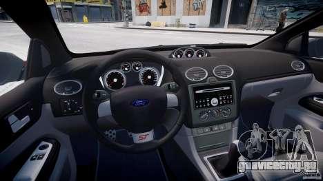 Ford Focus ST (X-tuning) для GTA 4 вид сзади