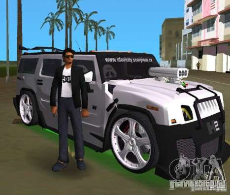 AMG Hummer H2 Hard Tuning v2 для GTA Vice City