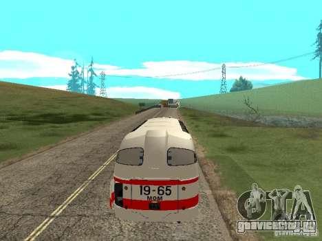 ЛАЗ 697Е Турист для GTA San Andreas вид сзади слева