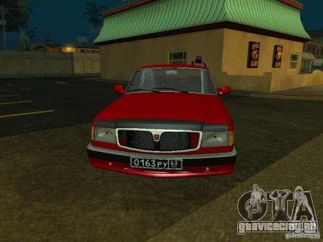 ГАЗ 3110 для GTA San Andreas вид слева