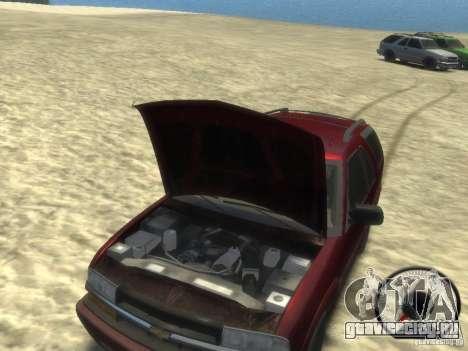 Chevrolet Blazer LS 2dr 4x4 для GTA 4 вид изнутри