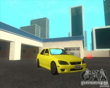 Lexus IS300 tuning для GTA San Andreas вид справа