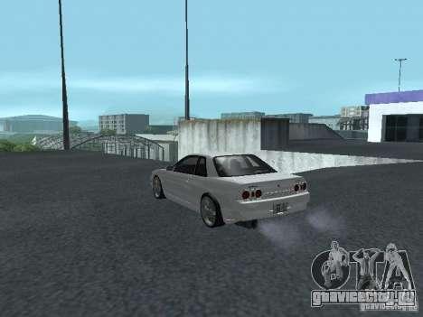 Nissan Skyline R32 Zenki для GTA San Andreas вид сзади слева