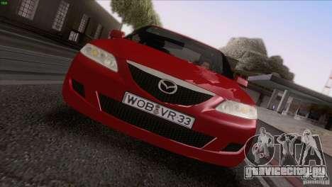 Mazda 6 2006 для GTA San Andreas вид сверху