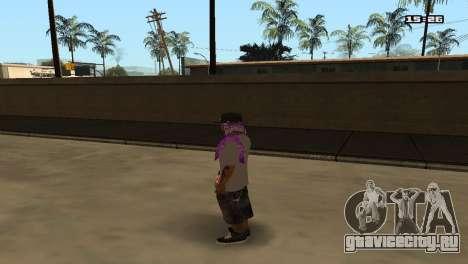 Skin Pack Ballas для GTA San Andreas третий скриншот
