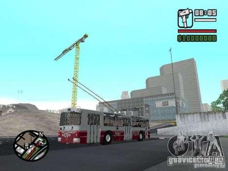 ЗиУ-682Г-017 (682Г0Н) для GTA San Andreas вид снизу