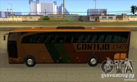 Mercedes-Benz Travego Gontijo для GTA San Andreas вид слева