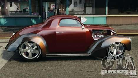 Walter Street Rod Custom Coupe для GTA 4 вид слева
