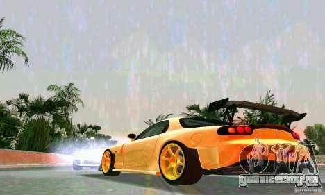 Mazda RX7 RE-Amemiya для GTA Vice City вид сзади