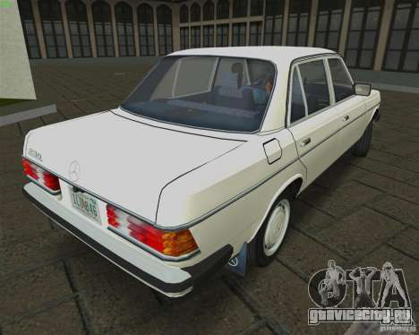 Mercedes-Benz 230 1976 для GTA Vice City вид слева