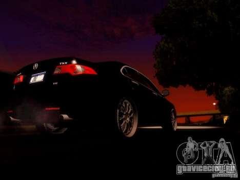 Acura TSX для GTA San Andreas вид сбоку