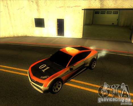Exage для GTA San Andreas вид сзади